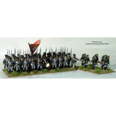 Prussian Napoleonic Line Infantry and Volunteer Jagers