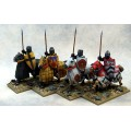 Mounted Crusading Knights (Great Helm) (Lance Upright) 0