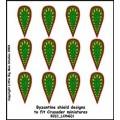 Byzantine Shield Designs 1 (Crusader) 0