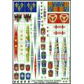 15mm Hundred Years War Banners and Pavises 0