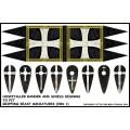 Hospitaller Banner and Shield Designs 0