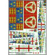 English Hundred Years War Banners
