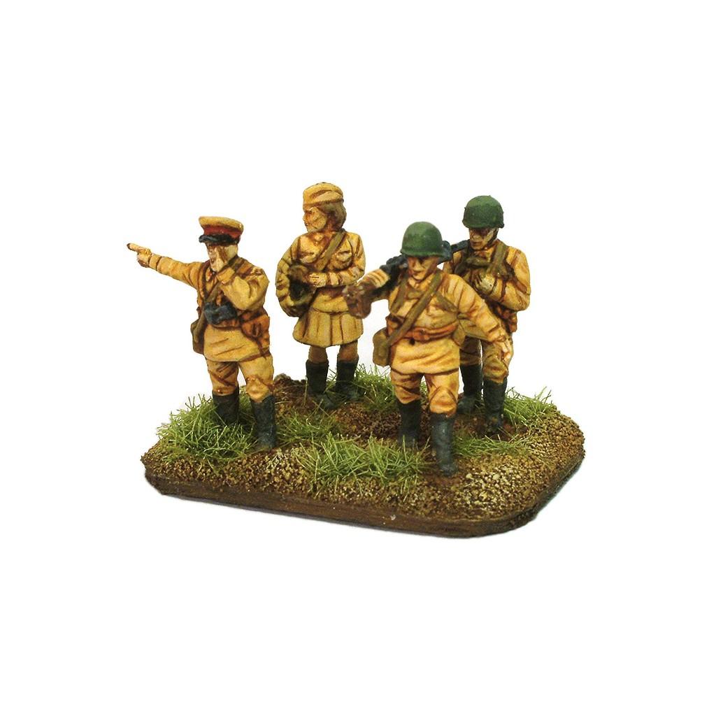 Buy 15mm WW2 Russian Infantry in Summer Uniform - Board Game