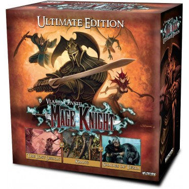 Buy Mage Knight - Ultimate Edition - Board Game - Wizkids