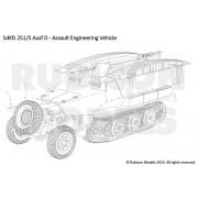 SdKfz 251 Ausf D (3-in-1)