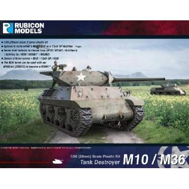 Buy M10/M36 Tank Destroyer - Board Game - Rubicon Models