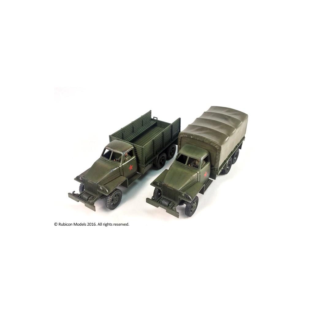 Buy Allies 2½ ton 6x6 Truck US6 U3/U4 - Board Game - Rubicon Models