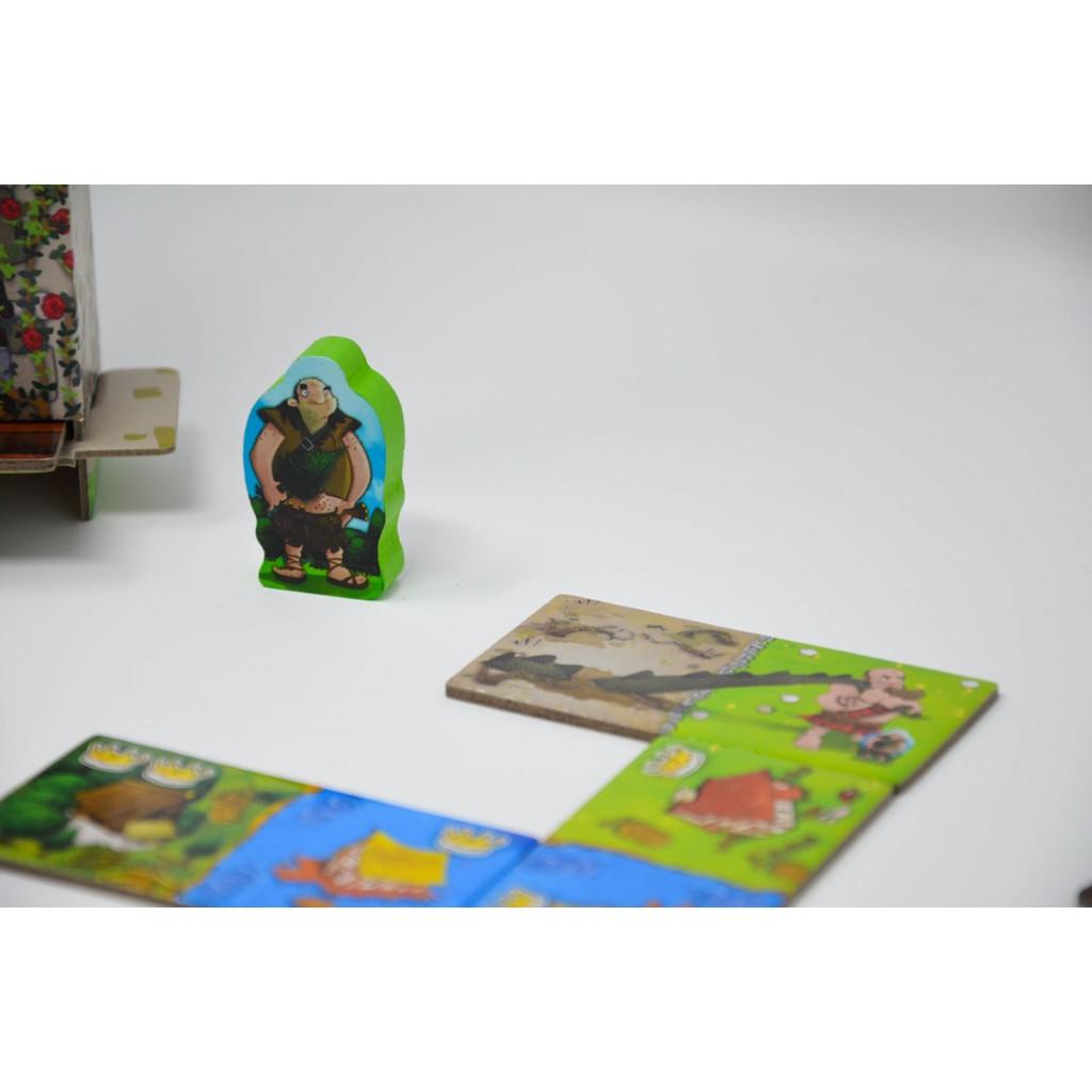 Buy Kingdomino Age Of Giants Board Game Tiles Game Blue Orange