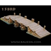 Modular Rural Wooden Bridge