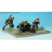 Perry Miniatures : Vickers Machinegun and 4 crew