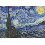 Micro Puzzle Bois - 40 Pièces - The Starry Night