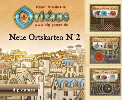 dlp-Games Orleans Ortskarten Nr.4 Mini-Erweiterung