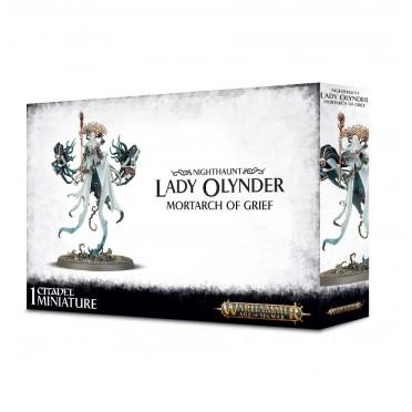 Age of Sigmar : Nighthaunt - Lady Olynder Mortarch of Grief