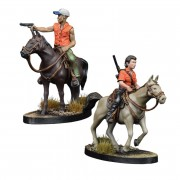 The Walking Dead : AOW -Maggie & Glenn on horseback Booster