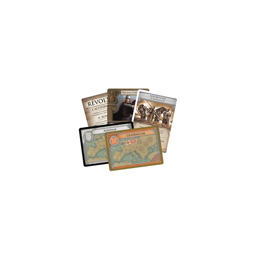 Nouveau Empire romain cartes à jouer thème jeu de cartes