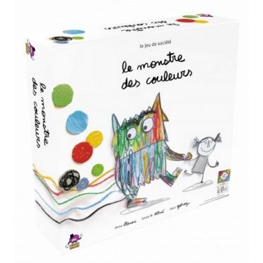 Buy Le Monstre Des Couleurs Board Game Purple Brain
