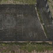 Playmats - Mousepad - Parking Lot  - 36''x36''