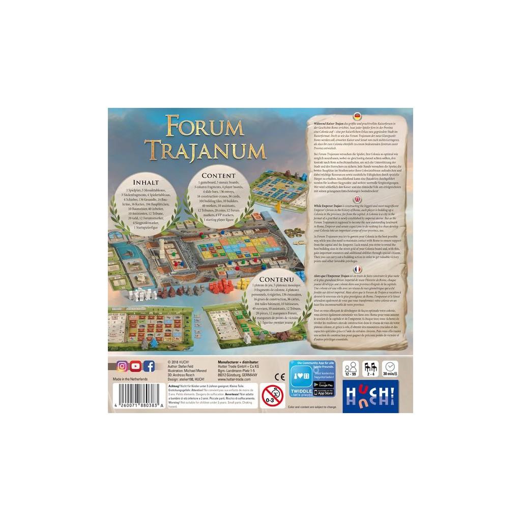 Buy Forum Trajanum - Board Game - Huch & Friends!