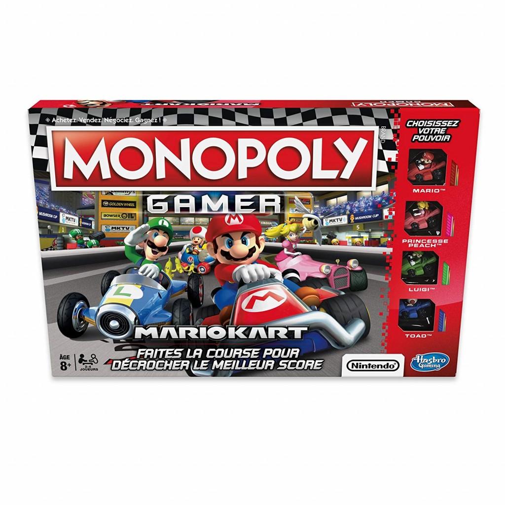 Acheter Monopoly Gamer Mario Kart Jeu De Soci 233 T 233 Hasbro