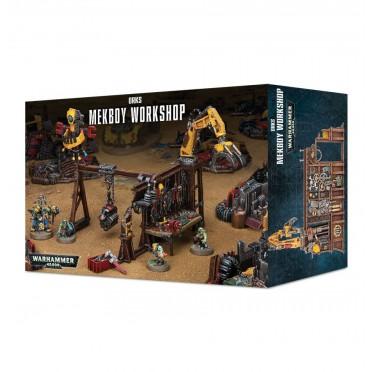 W40K : Décors - Orks Mekboy Workshop