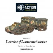 Bolt Action - French - Lorraine 38L Armoured Carrier