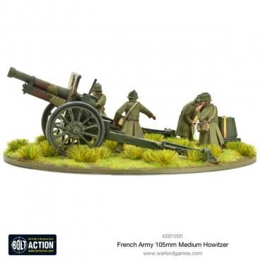 Bolt Action - French - 105mm Medium Howitzer