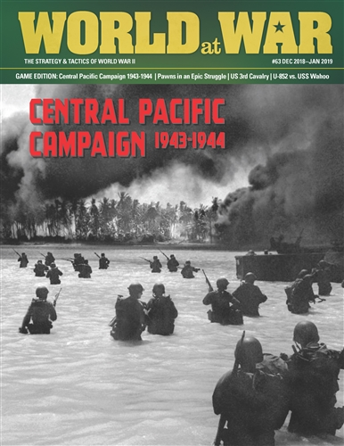 Buy World at War 63 - The Central Pacific Campaign - Board Game
