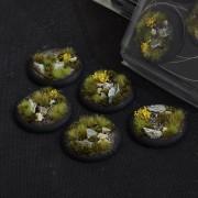Highland Bases, Round Lip 40mm (x5)