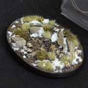 Winter Bases, Oval 105mm (x1)