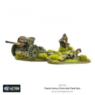 Bolt Action - French - 47mm Medium Anti-Tank Gun