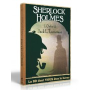 Sherlock Holmes - La BD dont vous êtes le Héros : Sur les traces de Jack l'Eventreur (Livre 5)