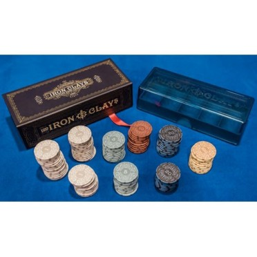 Iron Clays: Gaming Counters (Retail Edition)