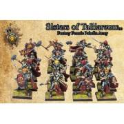 Sisters of Talliareum (female fantasy paladins)