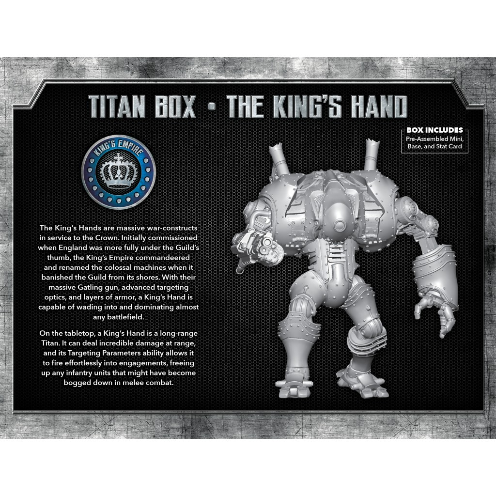 Buy The Other Side - Kings Empire Unit Box - King's Hand Titan - Board Game  - Wyrd Miniatures