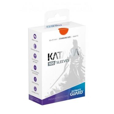 100 Sleeves Katana: Orange