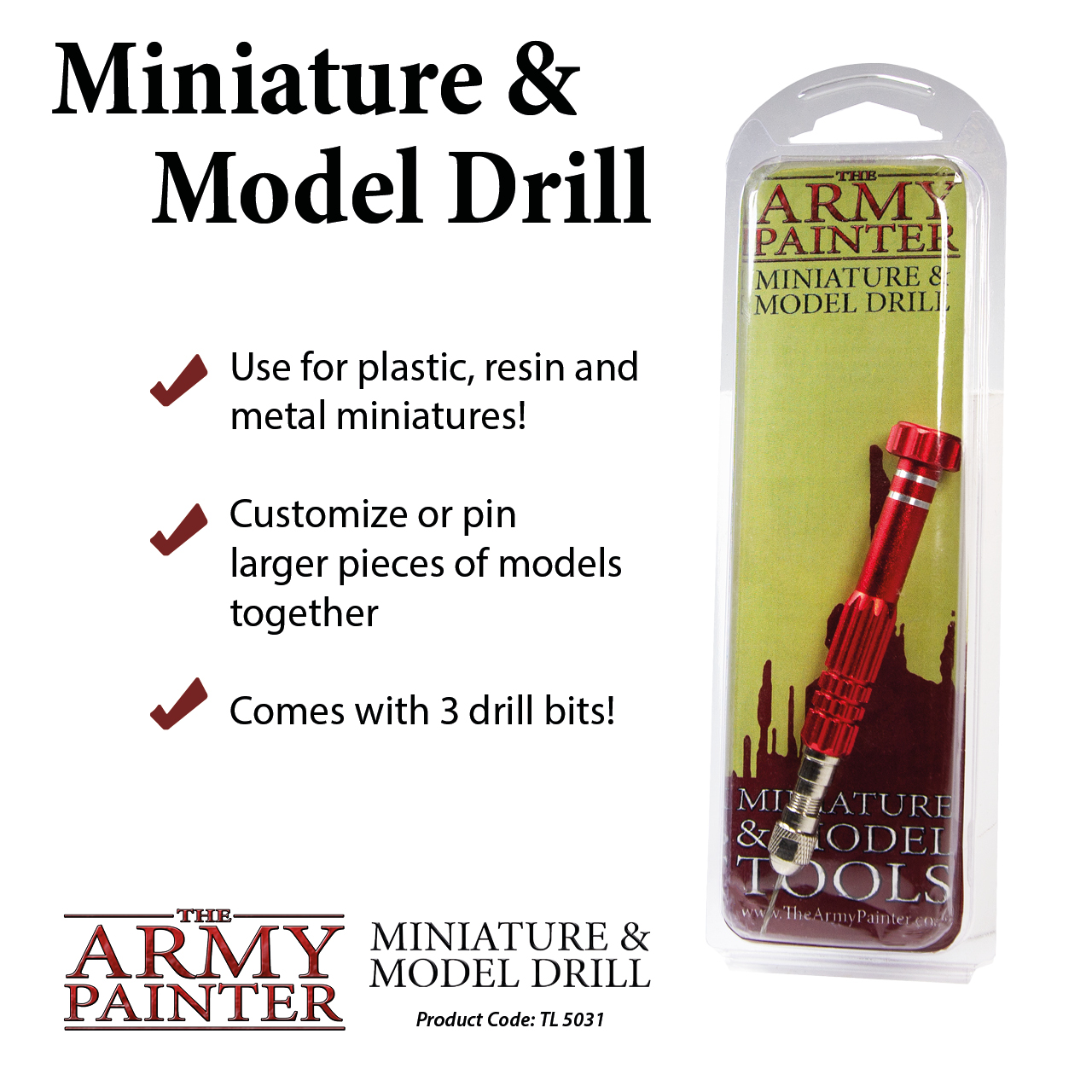 Buy Army Painter - Miniature & Model Drill - Board Game