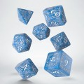 Dice Set Elvish Glacier & White (7) 0