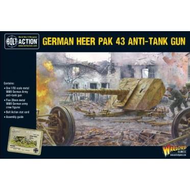 Bolt Action  - German - German Heer Pak 43 Anti-Tank Gun
