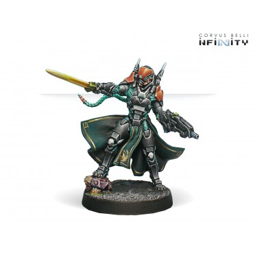 Infinity - Yu Jing - Imperial Agents, Crane Rank (MULTI Rifle, Monofilament CCW)