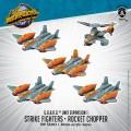 Monsterpocalypse - Protector - Strike Fighters & Rocket Chopper 0