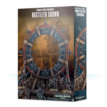 W40K : Décors - Chaos Space Marines Noctilith Crown