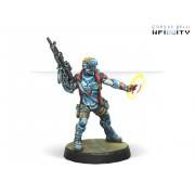 Infinity - Panoceania - Locust, Clandestine Action Team (Hacker)