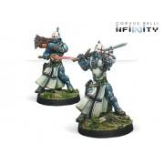 Infinity - Panoceania - Teutonic Knight ( Spitfire/Combi Rifle)