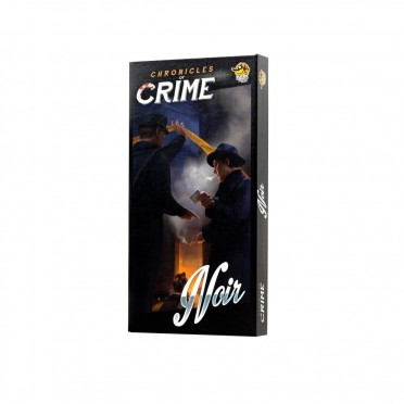 Buy Chronicles of Crime - Noir - Board Game - Lucky Duck Games