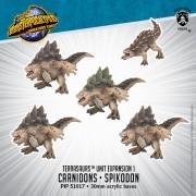 Monsterpocalypse - Protectors - Carnidon & Spikodon