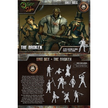 The Other Side - Cult of the Burning Man Unit Box - The Broken