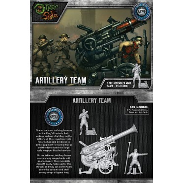The Other Side - King's Empire Unit Box - Artillery Team