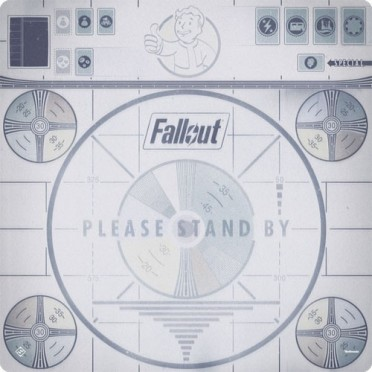 Game Mat Fallout : Please Stand By