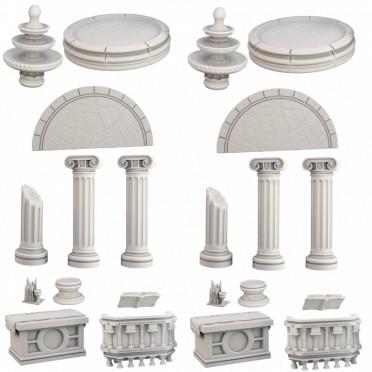 Terrain Crate: Le Temple