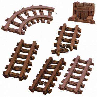 Terrain Crate: Rails anciens